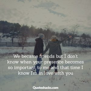 Falling in love with best friend quotes