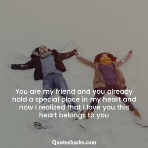 Friendship to lover quotes