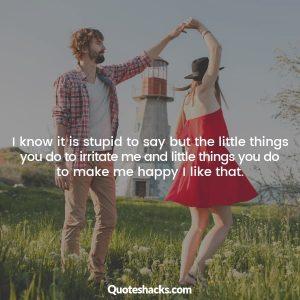 Short boyfriend quotes